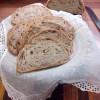 Pan de nueces (masa madre)