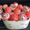 Cake pops red velvet