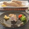 Solomillo relleno de foie y manzana en salsa de manzana al Pedro Ximénez