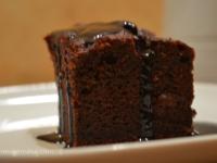 Bizcocho de remolacha y chocolate