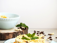 Ensalada de cuscus, pollo y mandarina