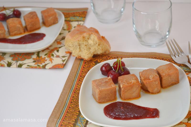 tacos de atun en salsa de cerezas12