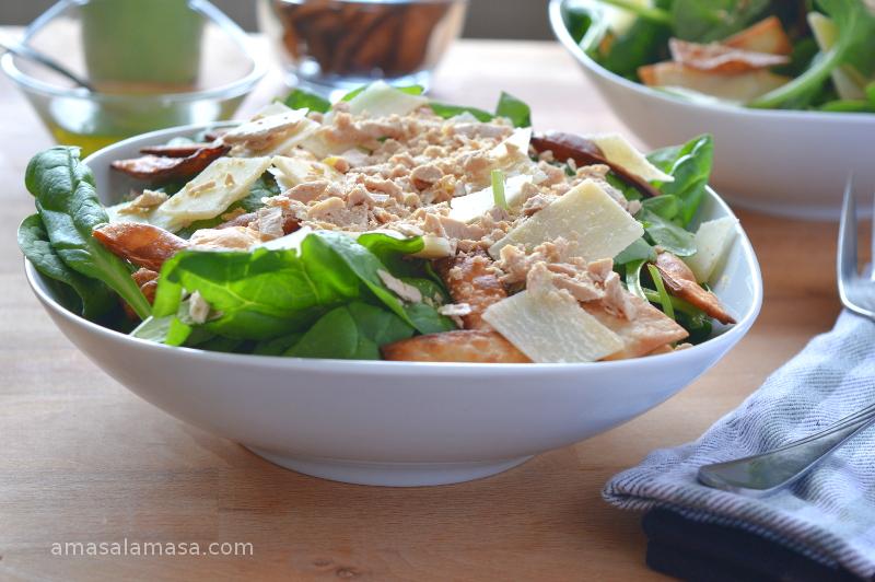 ensalada de espinacas con foie y parmesano17